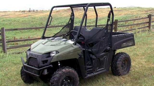 This is the same model UTV that was involved in the accident that took Madyson Loftis' life. Credit (Macoupin County Sheriff's Office)