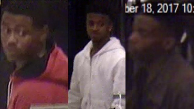 Suspects in Arnold Target smash and grab.