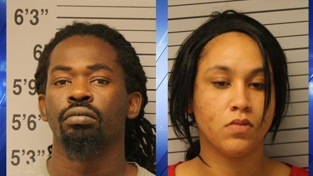Lee Hamilton, 36, and Astasia Phelps, 29, were arrested following a two-month narcotics investigation in Poplar Bluff  (Credit: Poplar Bluff Police)