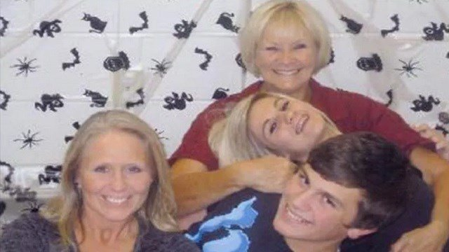 Judy Henderson with her family. (Credit: Family photo)
