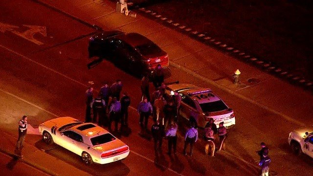 High speed police chase ends in crash in Midtown St. Louis