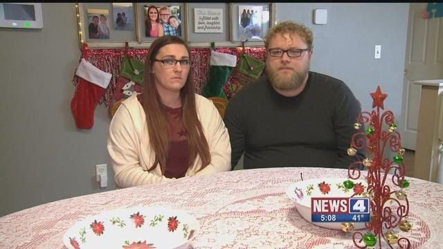 This couple says their two dogs were killed by coyotes near their Granite City home. Credit: KMOV
