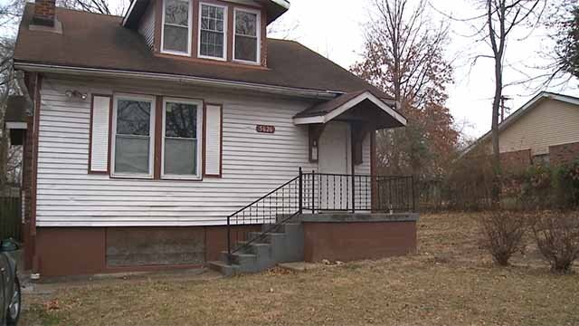 The Finest 15 is hoping to transform north St. Louis one vacant home at a time. Credit: KMOV