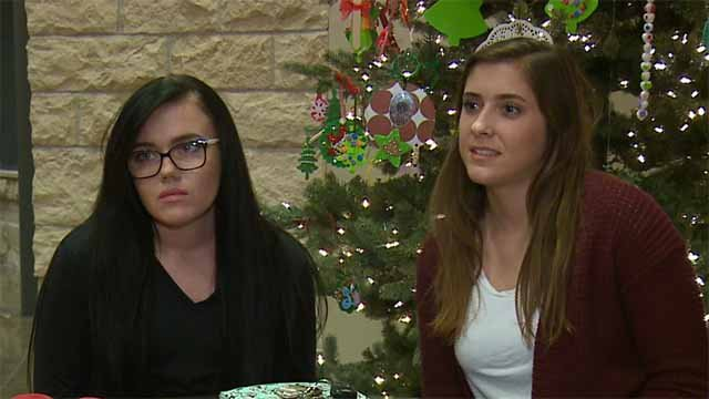 Brianna Britton and Olivia Sclottach. Credit: KMOV