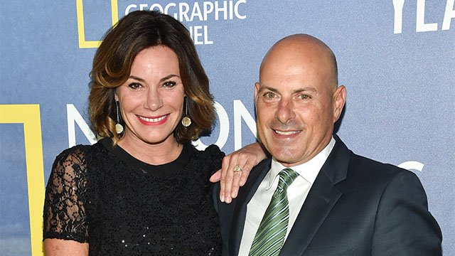 LuAnn de Lesseps and fiance Thomas D'Agostino in 2016. (Credit AP)