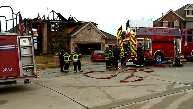 The family lost one of their two dogs in the fire. (Credit: KMOV)
