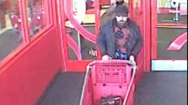 Shiloh Police are looking for this man who walked out of Target with a vacuum Dec. 21. (Credit: Shiloh Police Department)