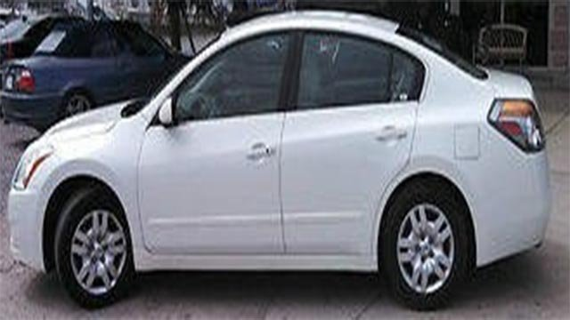 St. Louis County police are searching for a 2011 Nissan Altima with the Missouri license plate: HH2-Z1T (Credit: Police)