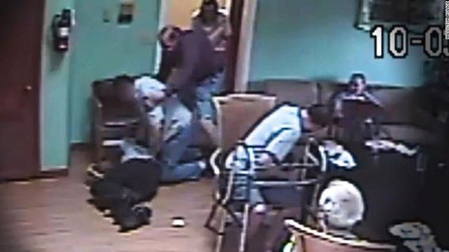 A newly uncovered video of a resident at an assisted living facility in Florida mercilessly beating another resident raises new questions about the safety of the elderly in places meant to protect and care for them. (Credit: Williston Police)