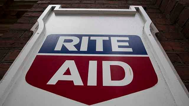 This Friday, Oct. 21, 2016, photo, shows a Rite Aid in Philadelphia. Rite Aid Corp. reports earnings, Thursday, June 29, 2017. (Credit: Matt Rourke/AP)