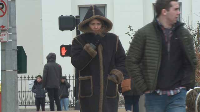 The cold temps are making St. Louis parks and sidewalks ghost towns. Credit: KMOV