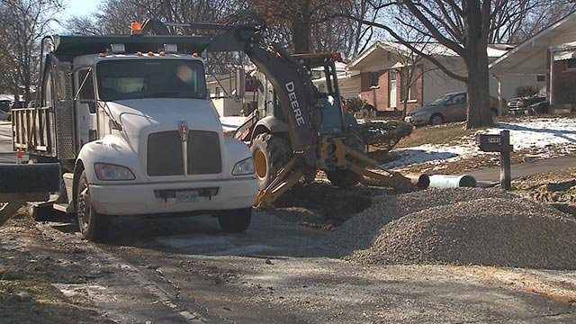 About 25 customers affected by south Richmond water main break