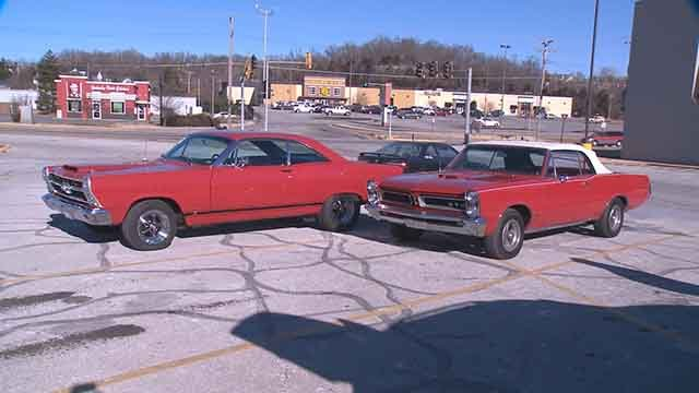 More than 50 Hot Rod enthusiasts gathered New Year's Day for the 13th Annual Hot Rod Run to raise money for Cystic Fibrosis. (Credit: KMOV)