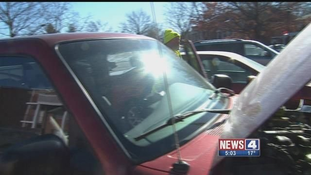 AAA says it is receiving lots of calls about car batteries dying in the cold. Credit: KMOV