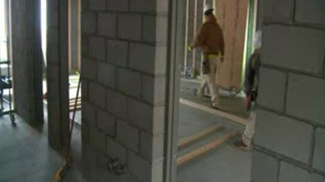Construction of the storm shelter at Primrose School  of St. Charles (Credit: KMOV)