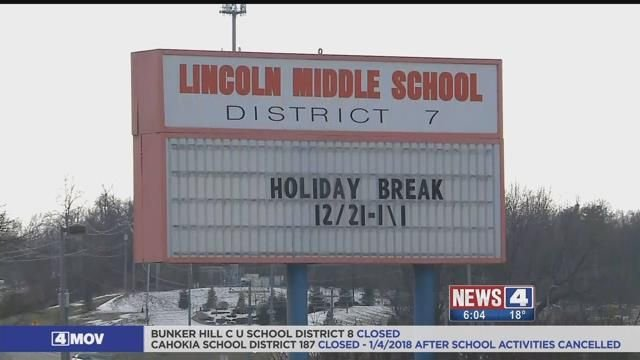 Lincoln Middle School in Edwardsville. Credit: KMOV
