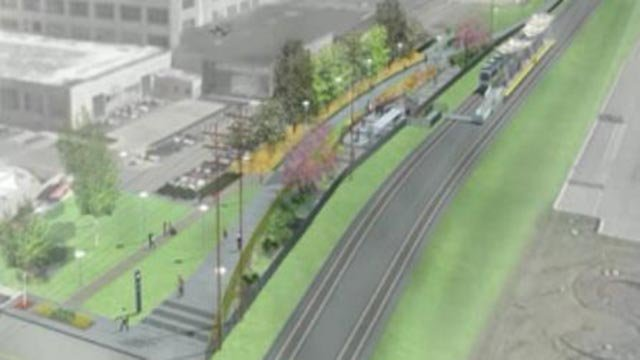 Rendering of Chouteau Greenway (Credit: Great Rivers Greenway)
