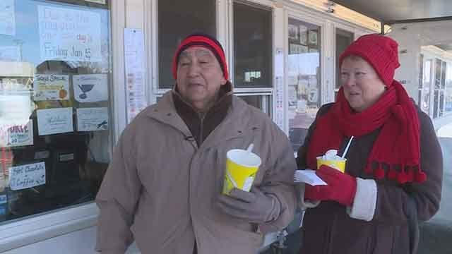 Ted Drewes Frozen Custard is ending their season two days early due to cold temperatures. (Credit: KMOV)