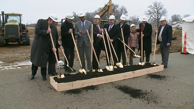 A new affordable senior living facility is in the works in Swansea, Ill.  (Credit: KMOV)