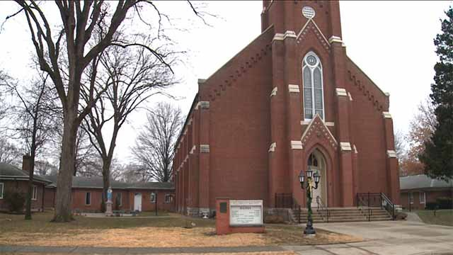 Holy Childhood Church and School. Credit: KMOV