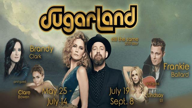 Sugarland to perform in Omaha this summer