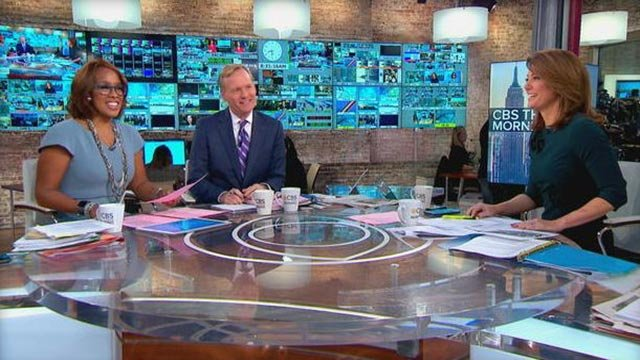 """CBS This Morning"" co-hosts Gayle King, John Dickerson and Norah O'Donnell  (Credit: CBS NEWS)"