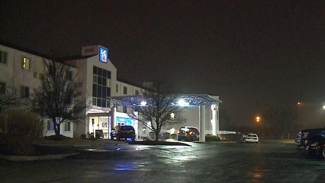 A woman was carjacked on the Motel 6 parking lot in Caseyville Tuesday night (Credit: KMOV)