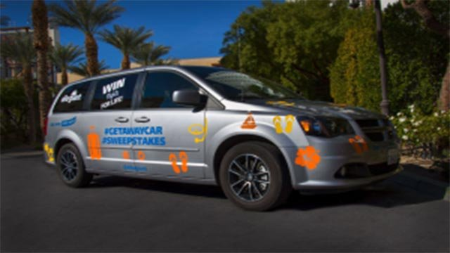 The Getaway Car (Credit: Allegiant Air)
