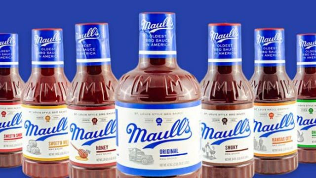 Array of Maull's sauce (Credit: maulls.com)