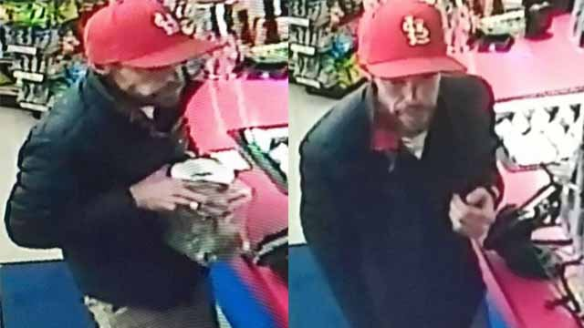 The owner of a Stockham's gas station near Festus said someone stole a donation jar meant for a customer with cancer. Credit: KMOV