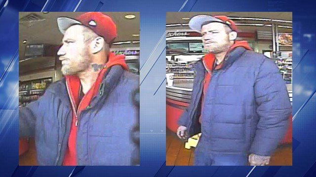 St. Louis County Police are searching for a man suspected of stealing disabled Veteran license plates. (Credit: St.Louis County PD)