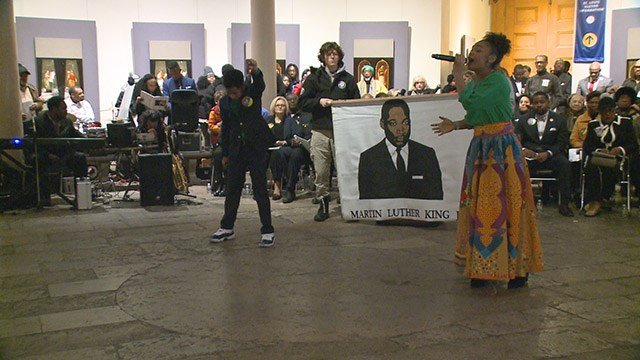 Observances are taking place across the country as people celebrate the Martin Luther King Jr. holiday. (Credit: KMOV)