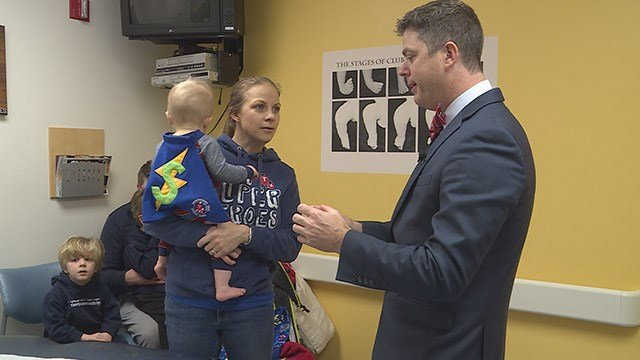 Tiny Superheroes is a project a Kirkwood mom started 5 years ago. (Credit: KMOV)
