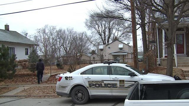 Police in the 7600 block of Jerome Avenue after arresting a kidnapping and assault suspect (Credit: KMOV)