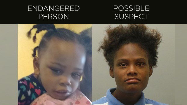 The St. Louis County Police Department has issued an Endangered Person Advisory for a missing 2-year-old girl. (Credit: St. Louis County PD)
