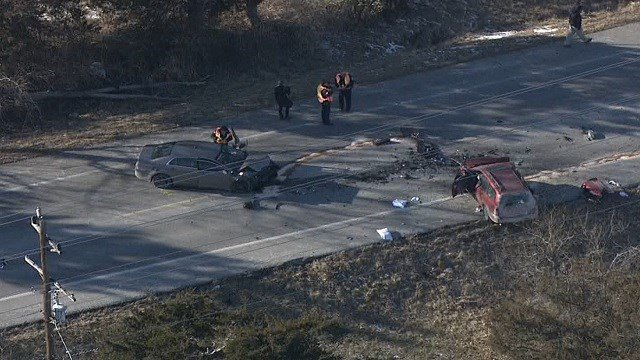 The accident happened just south of Highway 50, near 47's intersection with Sawmill Road around 2:00 p.m. Tuesday. (kmov