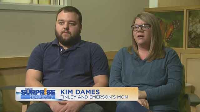 One Jefferson County couple says their pregnancy didn't go exactly as planned and the KMOV Surprise Squad stepped in to brighten up their circumstances. (Credit: KMOV)