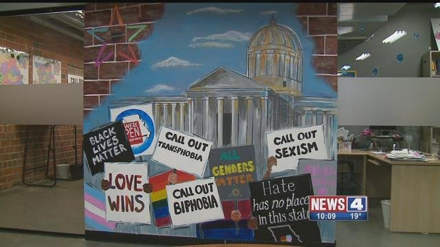PROMO is pushing to protect the rights of LGBT people in Missouri. Credit: KMOV