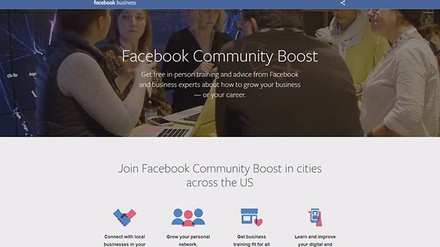 "Facebook is launching a brand new initiative called ""Community Boost"" to help small grow small businesses by training them on their digital skill set. They have picked 30 cities to roll out this program and chose St. Louis to be first. (Credit KMOV)"