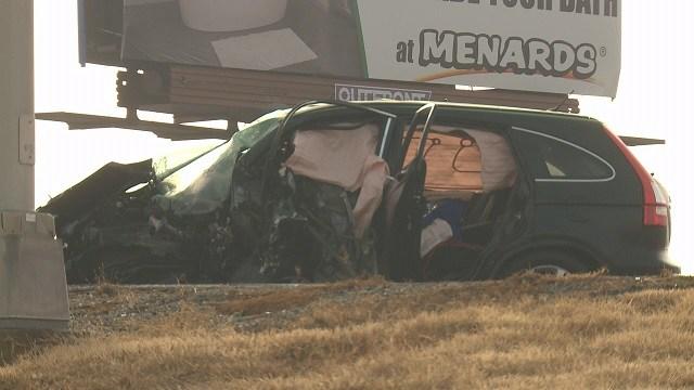 A fatal accident happened Sunday on I-64. (Credit: KMOV)