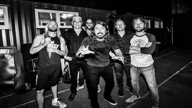 Foo Fighters (Credit: LiveNation)
