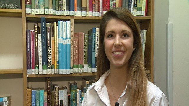 Noami See was one of 15 students awarded a national college scholarship. (Credit:KMOV)