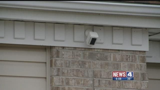 Florissant police are teaming up with residents to use surveillance cameras to catch criminals. Credit: KMOV