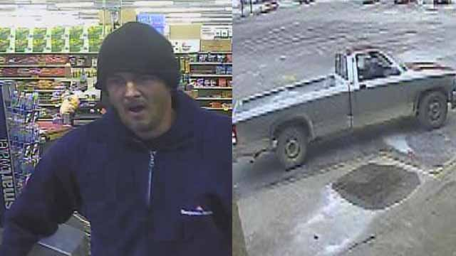 Police are searching for a man who they say stole a toolkit from Rural King in Wentzville. Credit: Wentzville PD