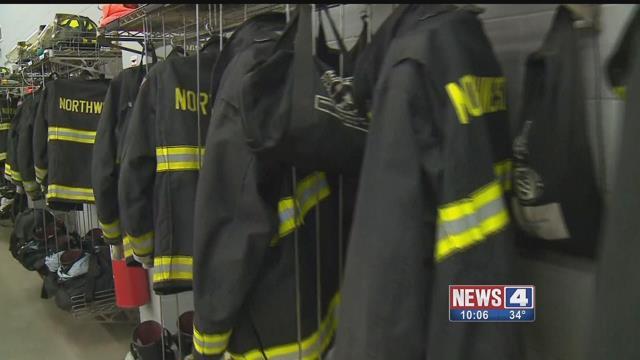 Firefighter jackets. Credit: KMOV