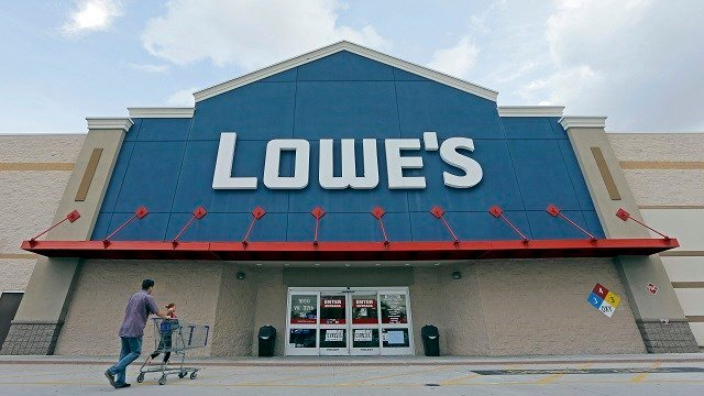 In this June 29, 2016, file photo, customers walk toward a Lowe's store in Hialeah, Fla. Lowe's reports financial results Wednesday, Nov. 16.  (Credit:AP/Alan Diaz, File)