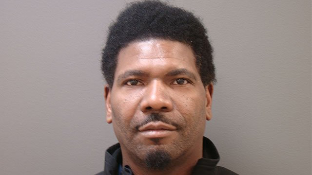 Timberson is charged with theft after police say he was stealing from the restaurant he worked at. (Credit: Shiloh Police Department.)