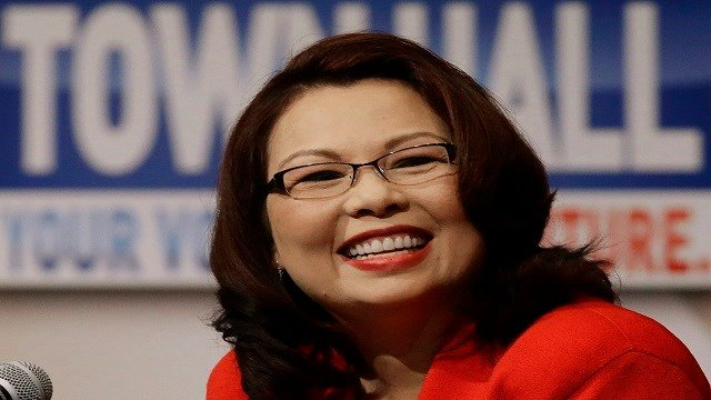 Democratic U.S. Rep. Tammy Duckworth, answers questions during the first televised debate with Republican U.S. Sen. Mark Kirk, in what's considered a crucial race that could determine which party controls the Senate(Credit: AP Photo/Seth Perlman)