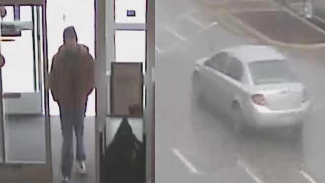 Police say the man on the left stole jewelry from Kohl's in Arnold and got away in a silver Chevy Colbalt. Credit: Arnold PD