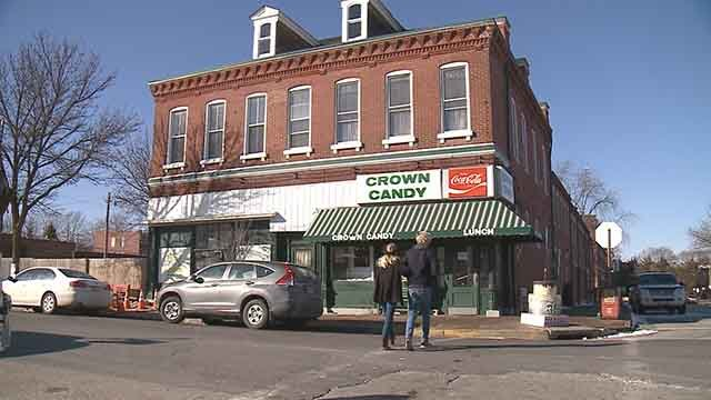 A candy store in old north St. Louis has ice cream, food, and sweet treats all in one! (Credit: KMOV)